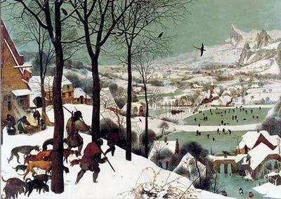Pieter Bruegel il Vecchio, Cacciatori nella neve, 1565, Kunsthistorisches Museum, Vienna